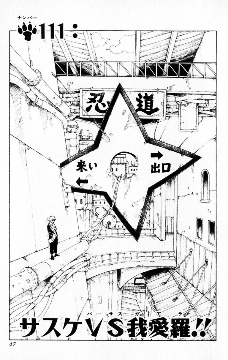Naruto Chapter 111 Cover Image