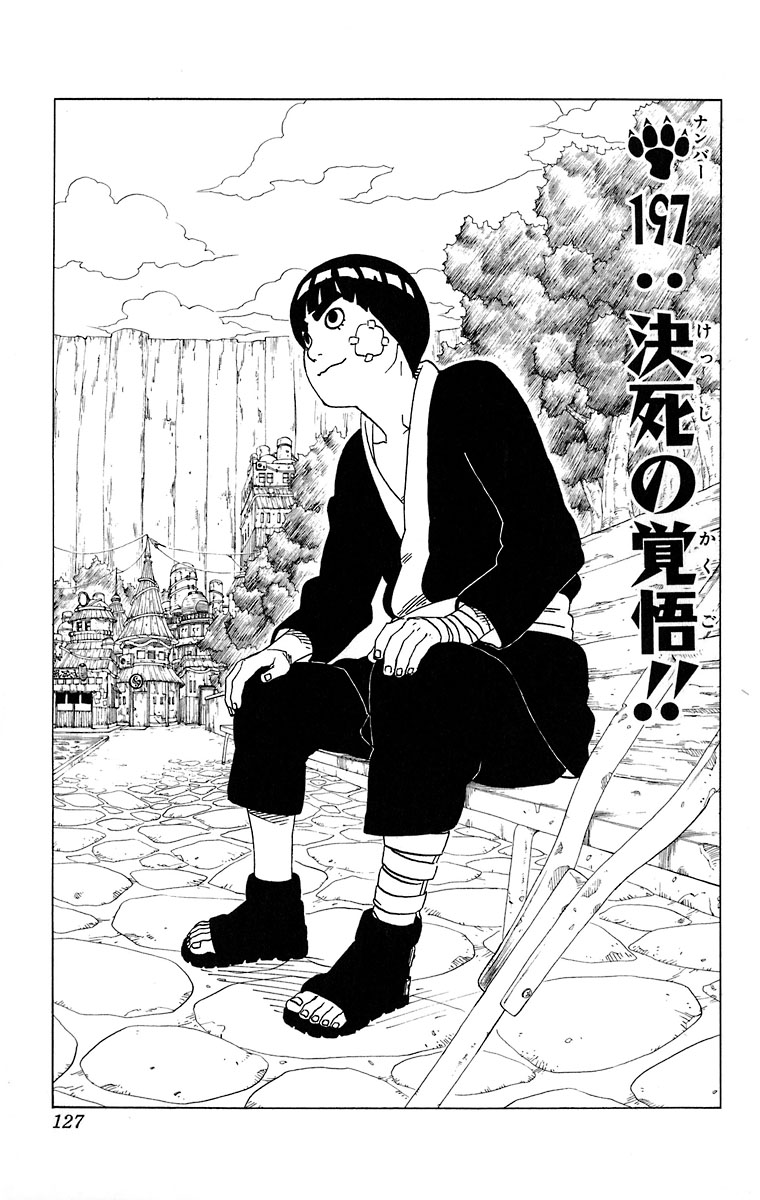 Naruto Chapter 197 Cover Image
