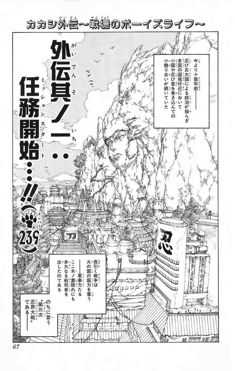 Naruto Chapter 239 Cover Image
