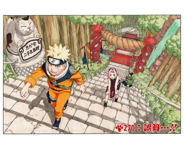 Naruto Chapter 270 Cover Image