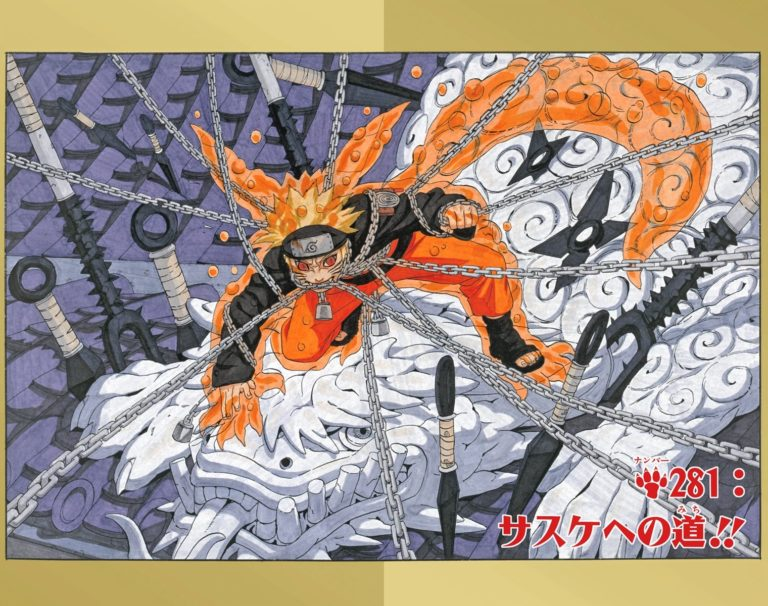 Naruto Chapter 281 Cover Image
