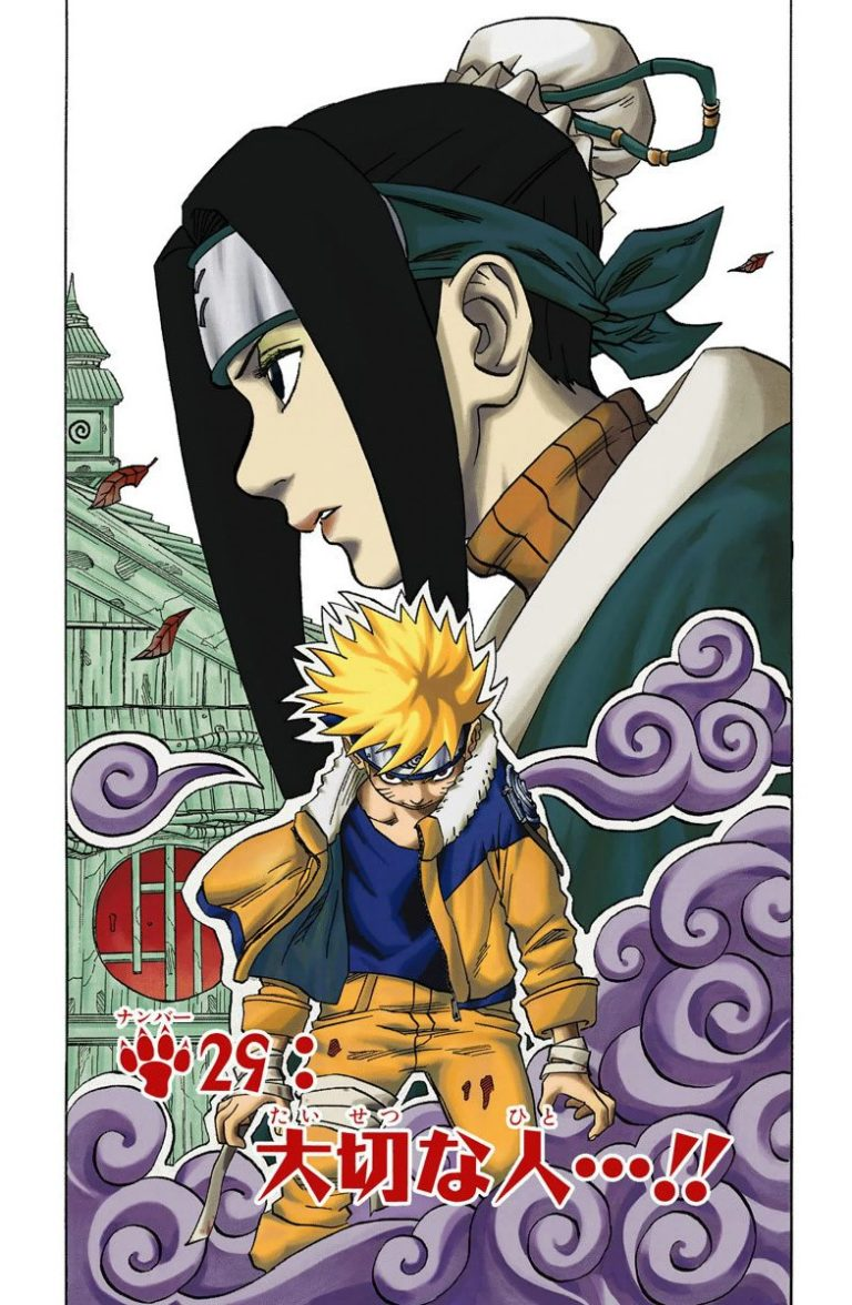 Naruto Chapter 29 Cover Image