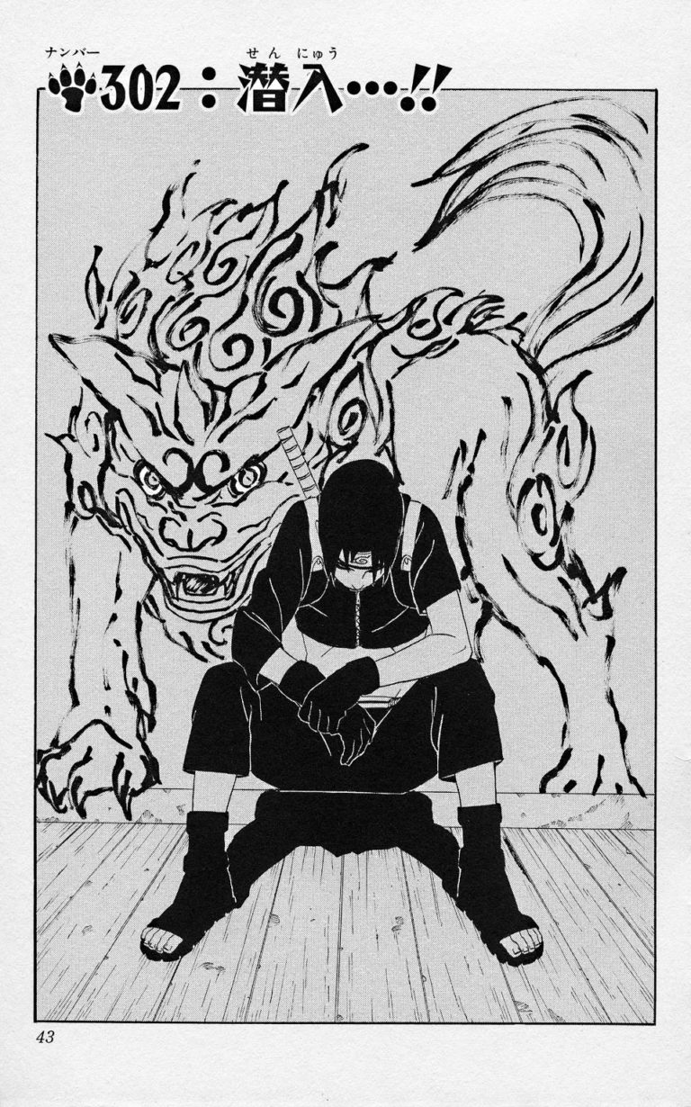 Naruto Chapter 302 Cover Image