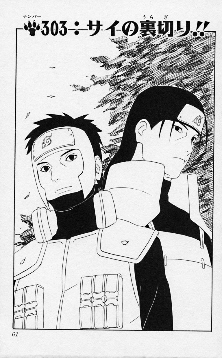 Naruto Chapter 303 Cover Image