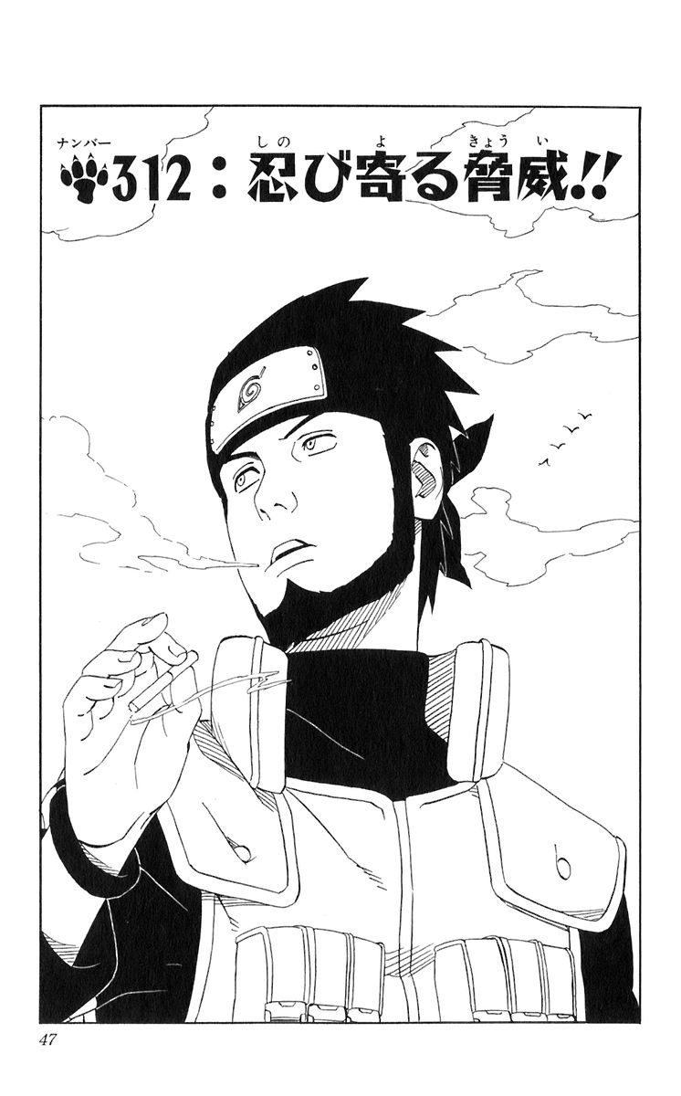 Naruto Chapter 312 Cover Image