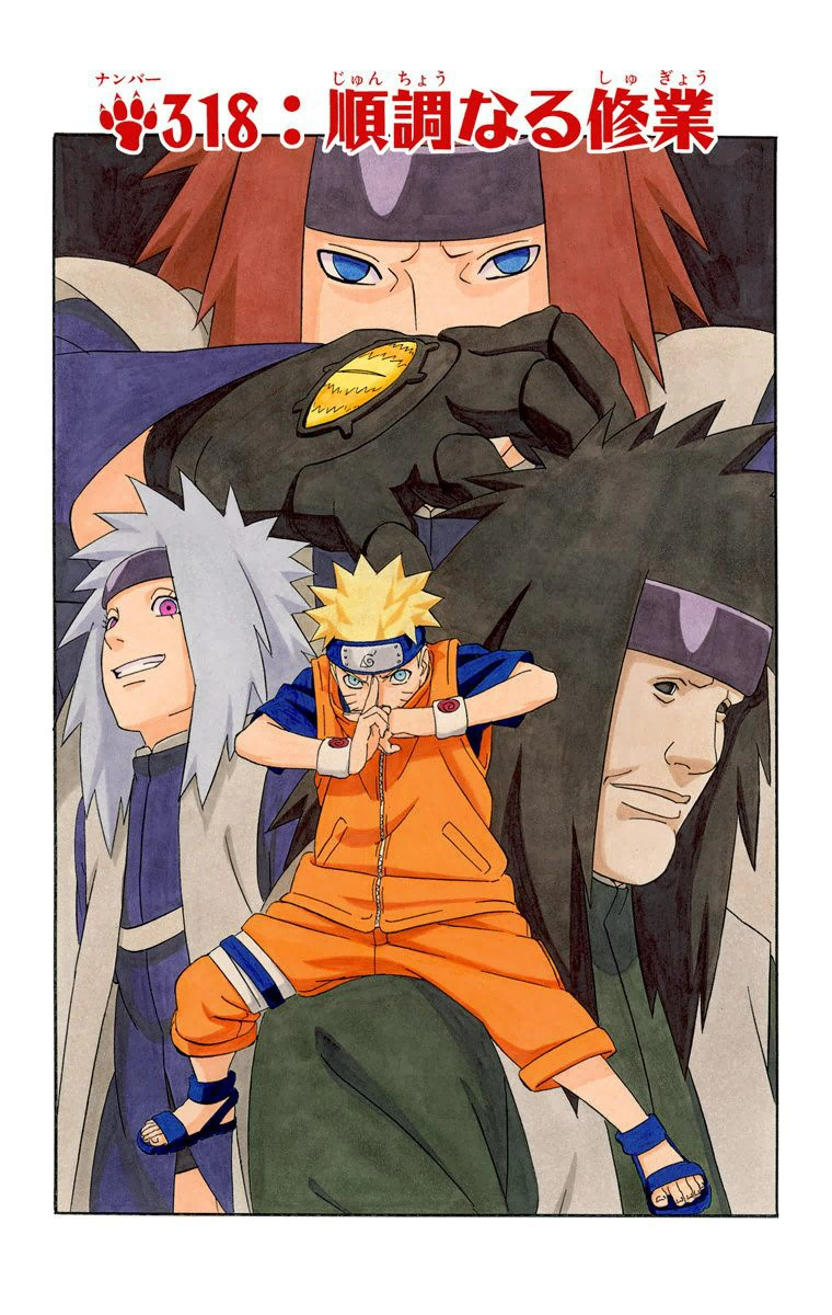 Naruto Chapter 318 Cover Image