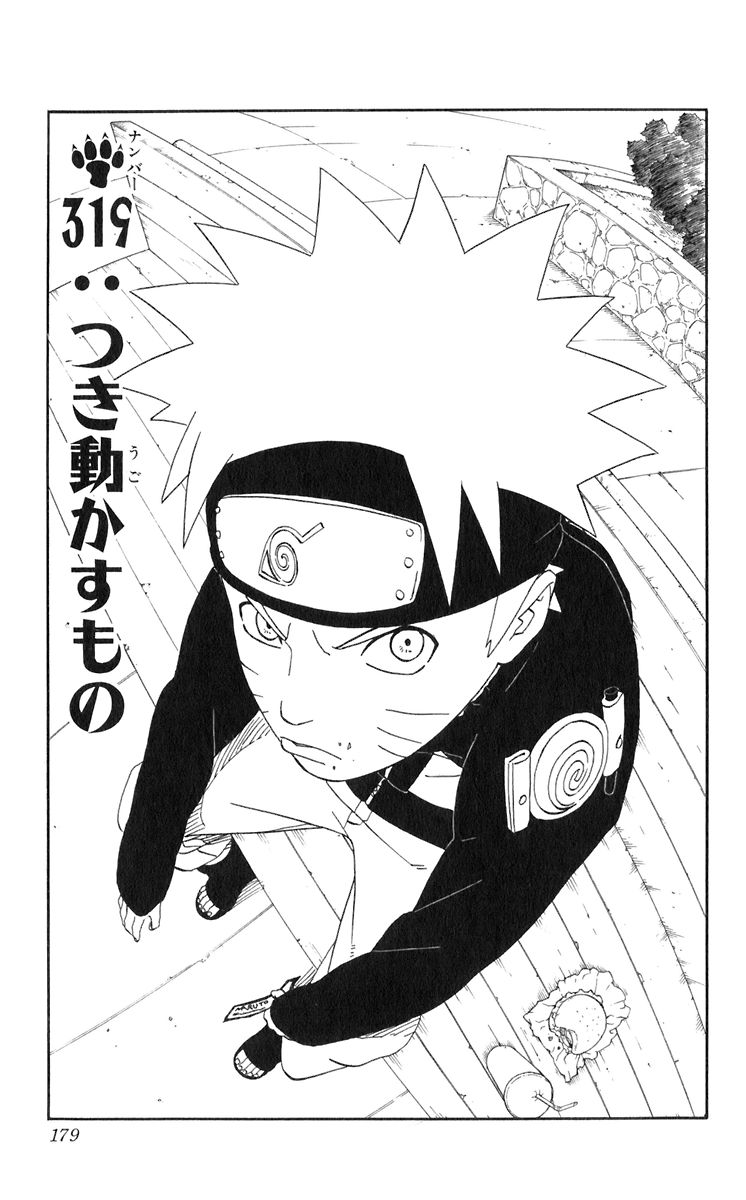 Naruto Chapter 319 Cover Image