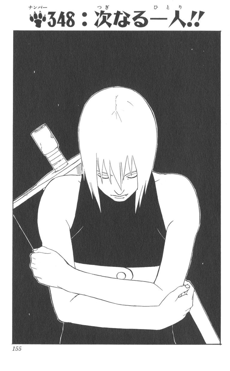 Naruto Chapter 348 Cover Image
