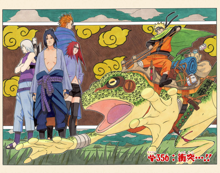 Naruto Chapter 356 Cover Image