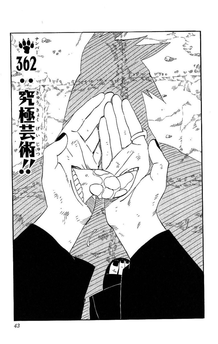 Naruto Chapter 362 Cover Image