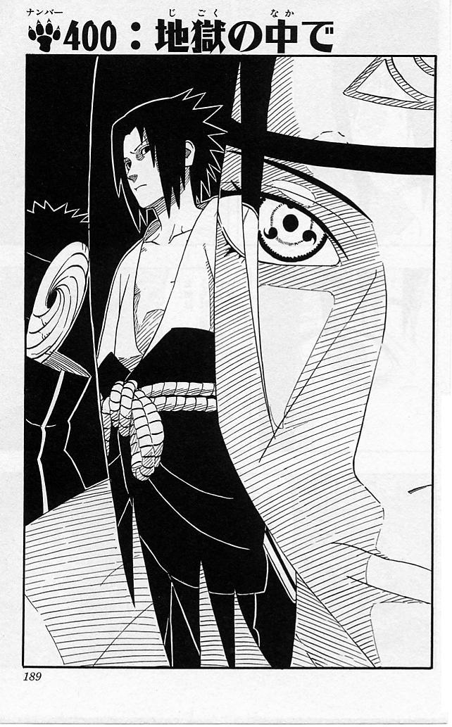 Naruto Chapter 400 Cover Image