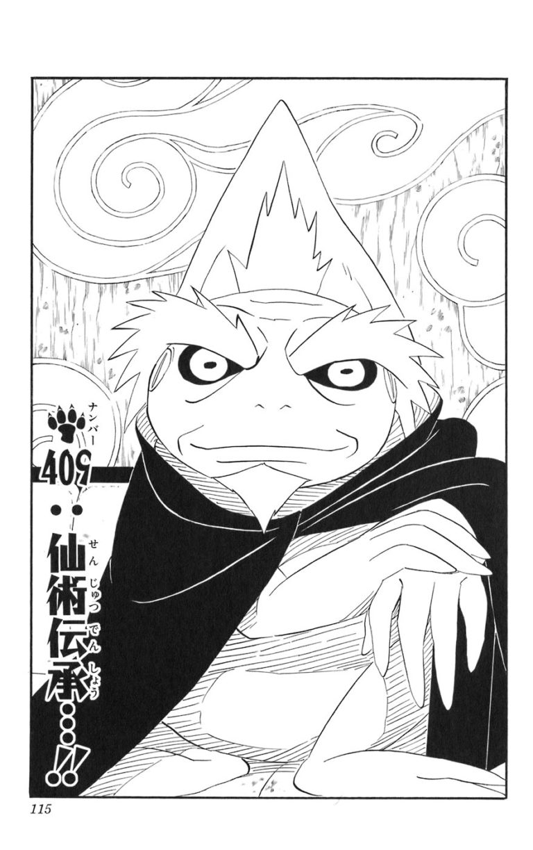 Naruto Chapter 409 Cover Image