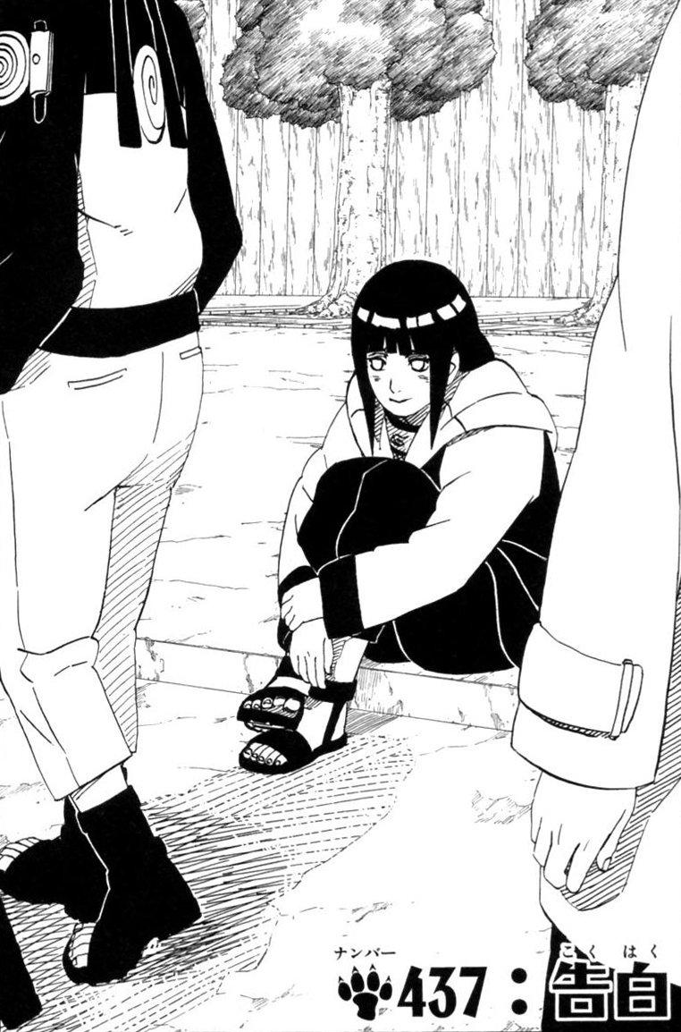 Naruto Chapter 437 Cover Image