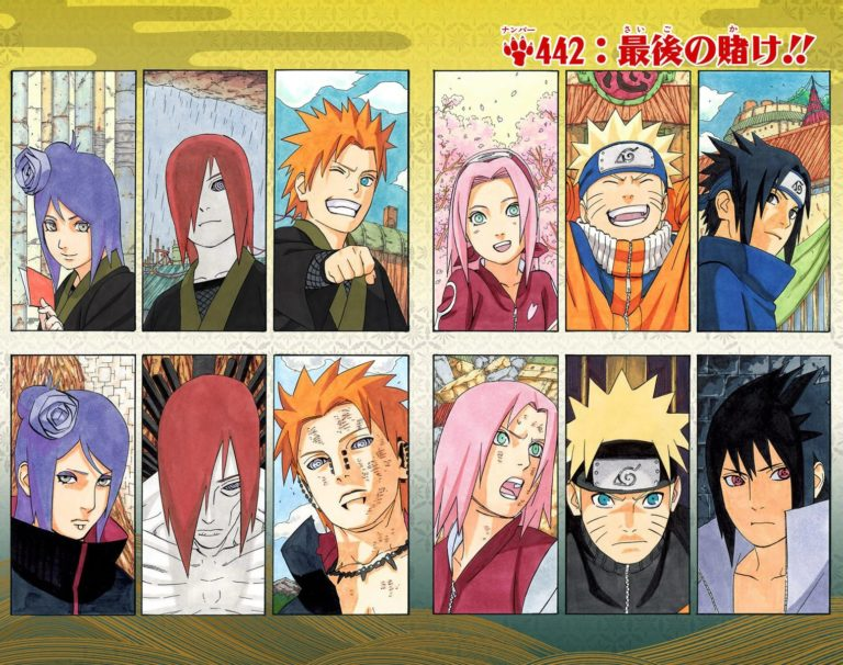Naruto Chapter 442 Cover Image