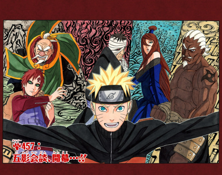 Naruto Chapter 457 Cover Image