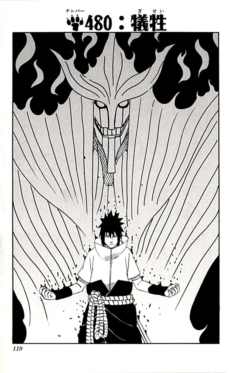 Naruto Chapter 480 Cover Image