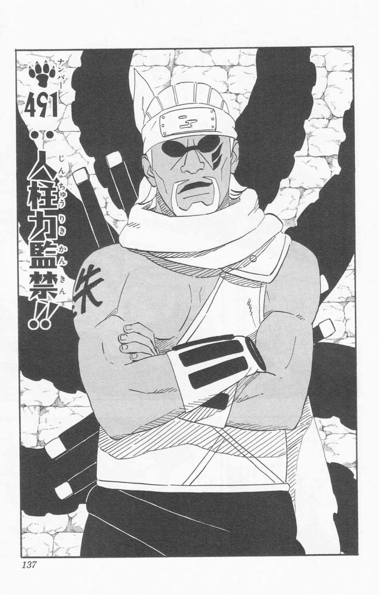 Naruto Chapter 491 Cover Image
