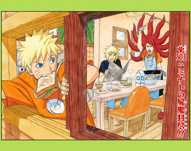 Naruto Chapter 503 Cover Image