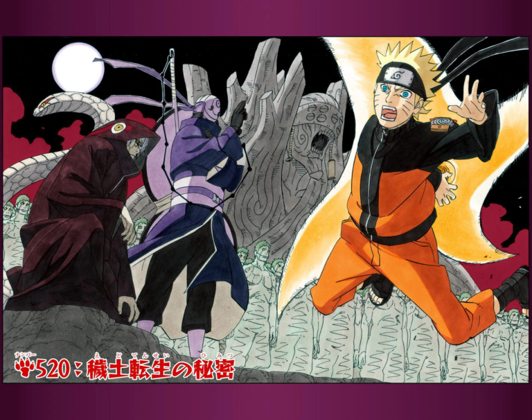 Naruto Chapter 520 Cover Image