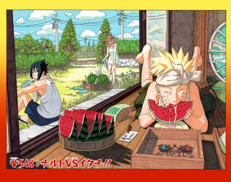 Naruto Chapter 548 Cover Image