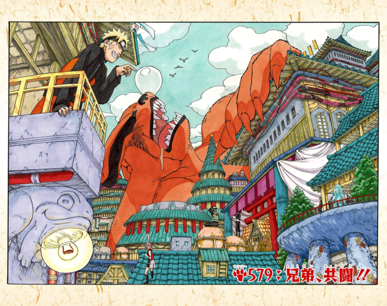 Naruto Chapter 579 Cover Image