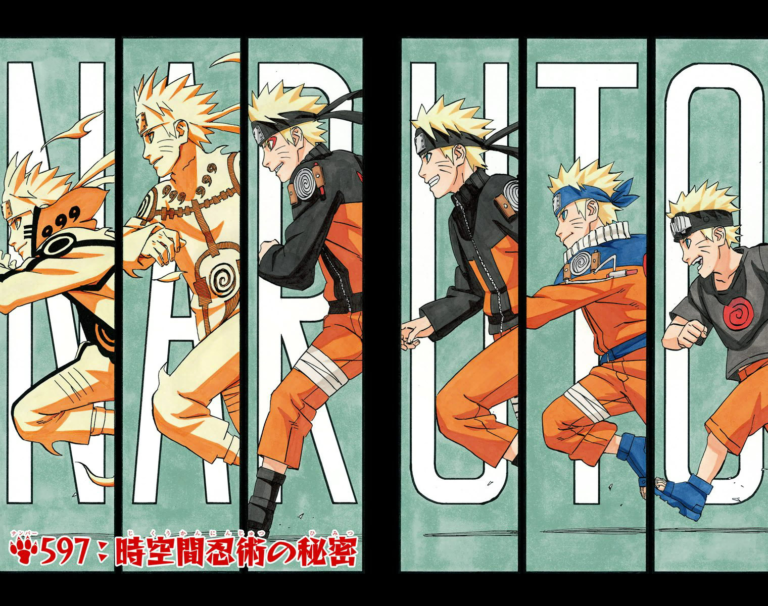 Naruto Chapter 597 Cover Image