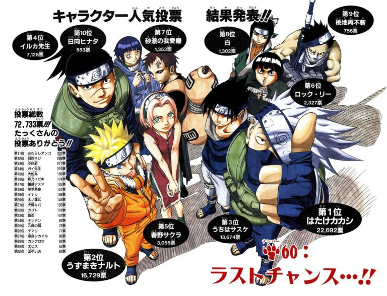 Naruto Chapter 60 Cover Image