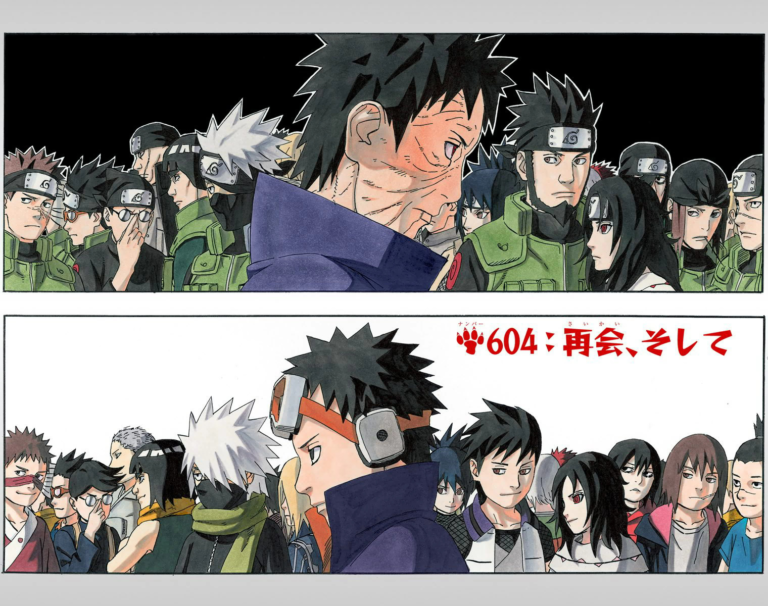 Naruto Chapter 604 Cover Image