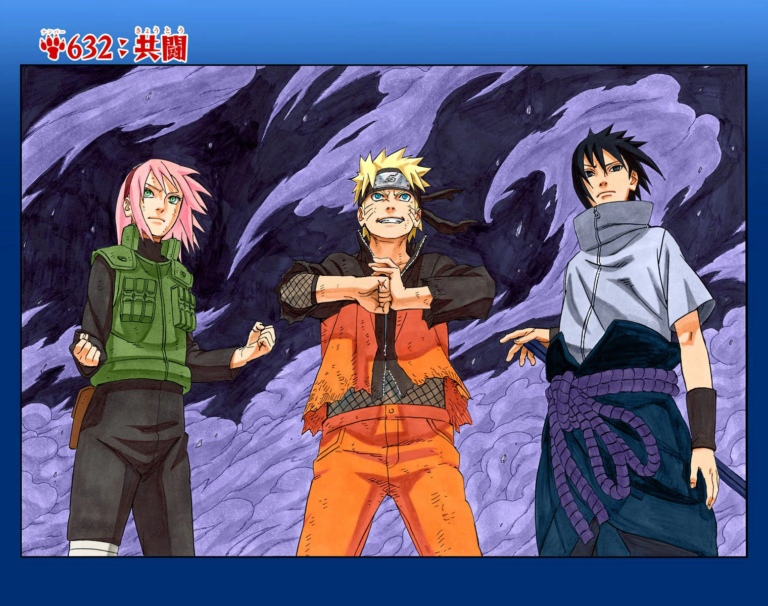 Naruto Chapter 632 Cover Image