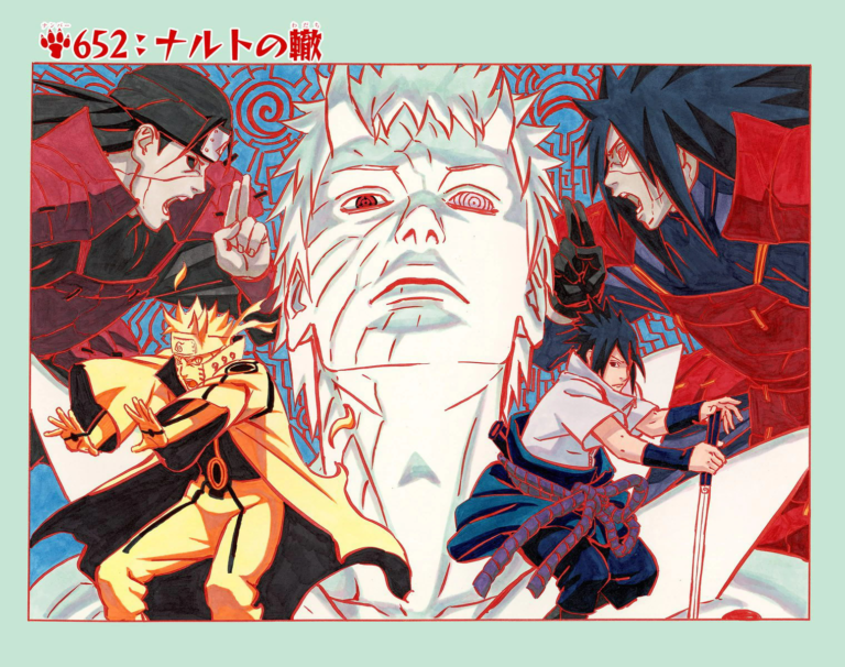 Naruto Chapter 652 Cover Image