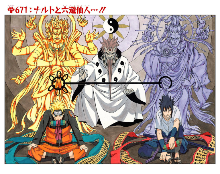 Naruto Chapter 671 Cover Image
