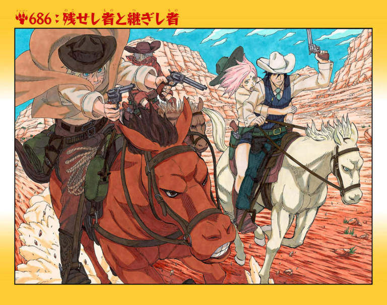 Naruto Chapter 686 Cover Image
