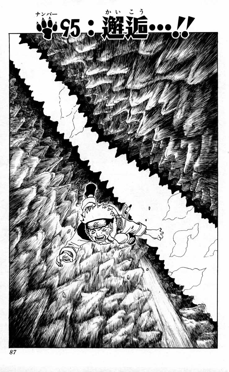 Naruto Chapter 95 Cover Image